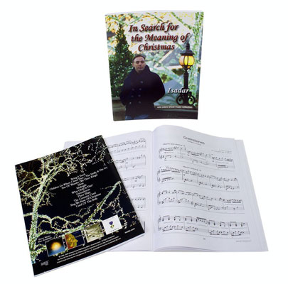 Isadar-In-Search-For-The-Meaning-Of-Christmas-sheet-music-merch-photo