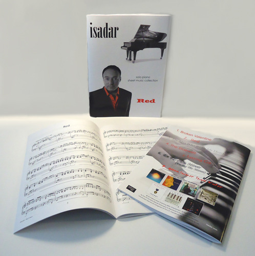 Isadar-Red-sheet-music-merch-photo