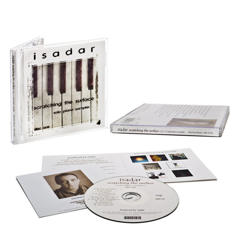 Isadar-Scratching-The-Surface-CD-merch-photo